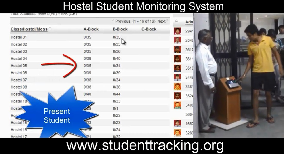 Quot Rfid Based Student Attendance System For School With
